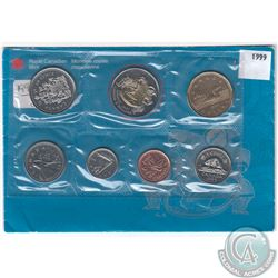 1999 Canada Nunavut Mule Proof Like Uncirculated Set. Contains the Mule $2 Coin (missing the ring be