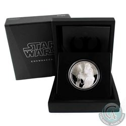 2017 Niue $2 Star Wars - Chewbacca Proof Silver Coin (Tax Exempt)