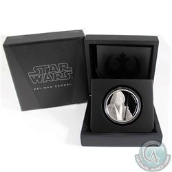 2017 Niue $2 Star Wars Classic: Obi-Wan Kenobi Silver Proof (Tax Exempt)