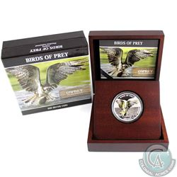 2013 Niue $2 Birds of Prey - Osprey Fine Silver Coin (TAX Exempt)