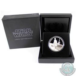 2017 Niue $2 Star Wars Classic: Luke Skywalker Silver Proof Coin (Tax Exempt)