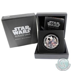 2017 Niue $2 Star Wars: Rogue One - Rebel Alliance Silver Coin (Tax Exempt)