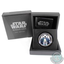2017 Niue $2 Star Wars: Rogue One - The Empire Fine Silver (Tax Exempt)