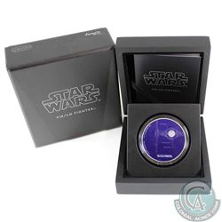 2017 Niue $2 Star Wars Ships - TIE/LN Fighter Fine Silver Coin (Tax Exempt)