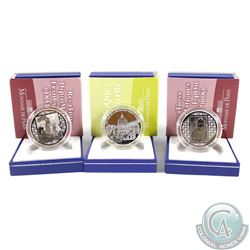2006 & 2008 France 1.5 Euro Silver Proof Coin Collection. You will receive the 2006 Basilique Saint-