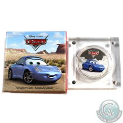 2017 Niue $2 Disney Pixar Cars - Sally Proof Silver Coin (TAX Exempt)