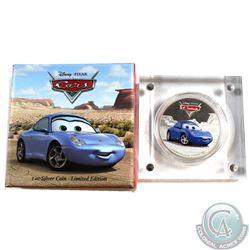 2017 Niue $2 Disney Pixar Cars - Sally Proof Silver Coin (TAX Exempt)