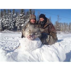 5 DAY ONTARIO TROPHY WOLF HUNT