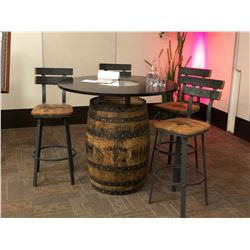 Jack Daniels Bar Table & Stools