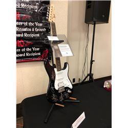 Autographed AC/DC Electric Guitar