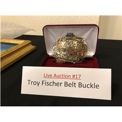 Troy Fischer Belt Buckle