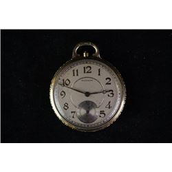 American waltham company produce, an old pocket watch.