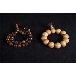 Two bracelets.