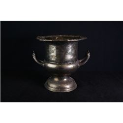 A piece of European style copper tableware.