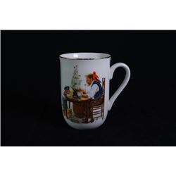 "1982 Norman Rockwell Museum, a mug ""For a Good Boy""."
