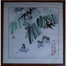 "A Chinese ink painting ""Xiao Ji Tu""."