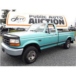 A11 -- 1994 FORD F150 REG CAB 4X4