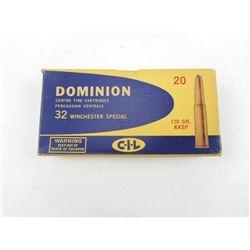 DOMINION 32 WIN SPL AMMO