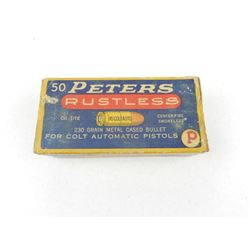 PETERS 45 COLT AUTO AMMO