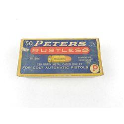 PETERS 45 COLT AUTO AMMO