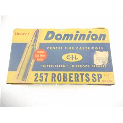 DOMINIOIN 257 ROBERTS AMMO