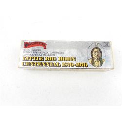 WINCHESTER 44-40 LITTLE BIG HORN AMMO