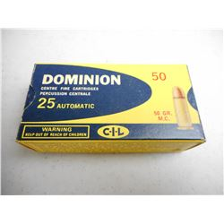 DOMINION 25 AUTO AMMO