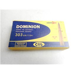 DOMINION 303 BRITISH RELOADS