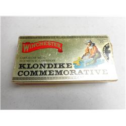 WINCHESTER 30-30 KLONDIKE COMMEMORATIVE AMMO