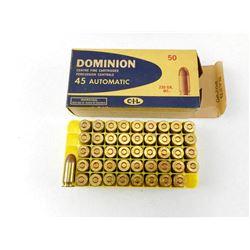 DOMINION 45 AUTO AMMO