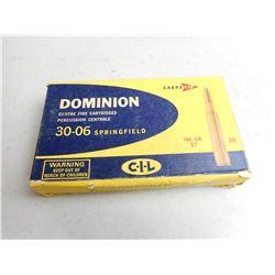 DOMINION 30-06 SPRG AMMO