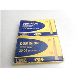 DOMINION 30-06 SPRG AMMO