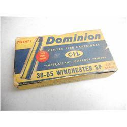 DOMINION 38-55 WINCHESTER AMMO