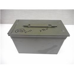 "AMMO TIN OF 12 GA 2 3/4"" SHOTGUN AMMO"