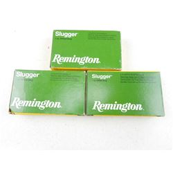 "REMINGTON SLUGGER 12 GA 2 3/4"" AMMO"