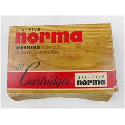 NORMA 6.5X55 AMMO