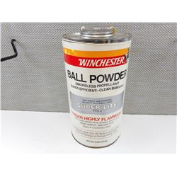 WINCHESTER BALL POWDER SMOKELESS POWDER