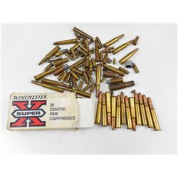 ASSORTED AMMO INCLUDES ANTIQUES