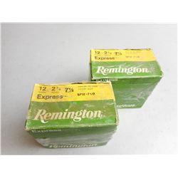 "REMINGTON 12 GA 2 3/4"" EXPRESS AMMO"