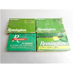 REMINGTON 30-06 SPRG AMMO & BRASS