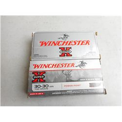 WICHESTER 30-30 AMMO