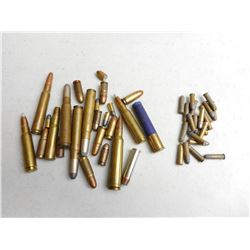 ASSORTED COLLECTABLE & NONCOLLECTABLE AMMO LOT