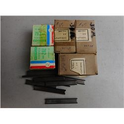 ASSORTED 7.62 AMMO & STRIPPER CLIPS