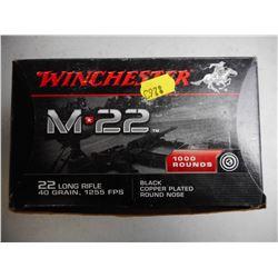 WINCHESTER M22 AMMO