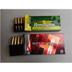 ASSORTED 260 REM & 300 WIN MAG AMMO