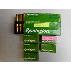 ASSORTED REMINGTON 30-06 & 22 AMMO
