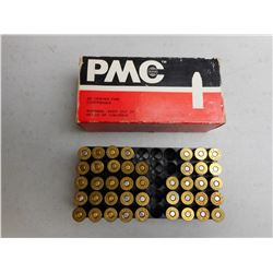 ASSORTED 44 REM MAG AMMO/RELOADS & BRASS