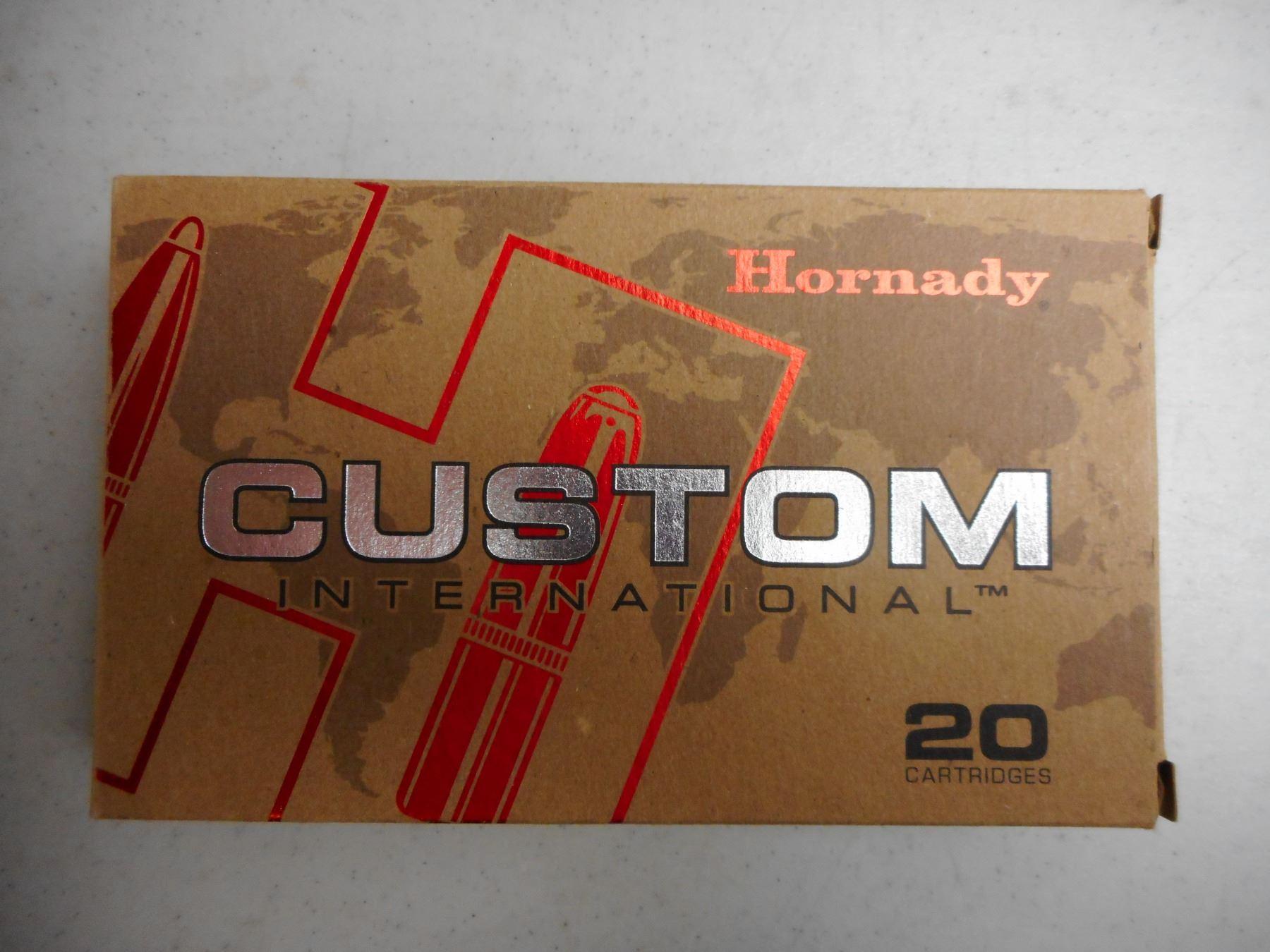 HORNADY CUSTOM 300 WIN MAG