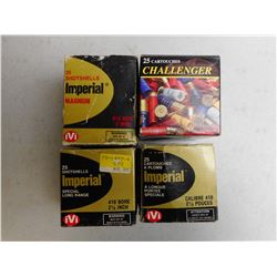 "ASSORTED 410 GA 2 1/2 & 3"" AMMO"