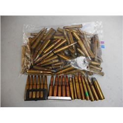 ASSORTED RIFLE AMMO INCLUDES WWII AMMO